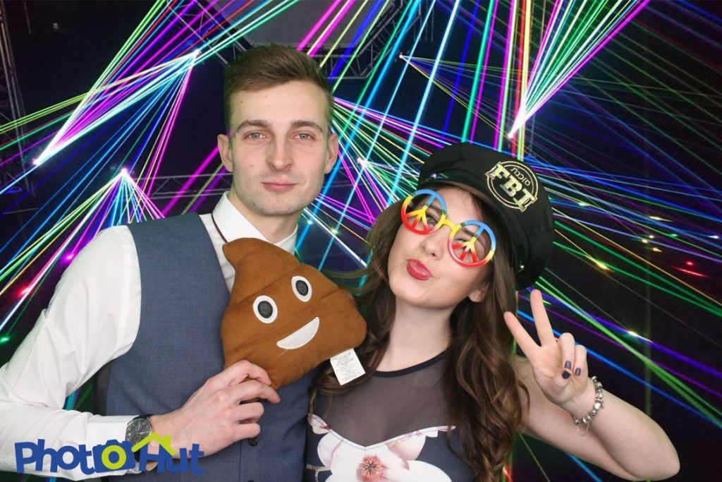 Disco time in the photo booth